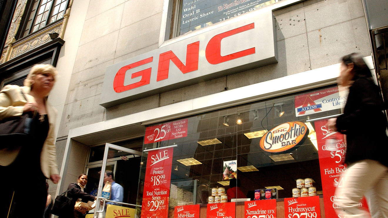 the-wall-street-journal:-vitamin-seller-gnc-holdings-files-for-bankruptcy