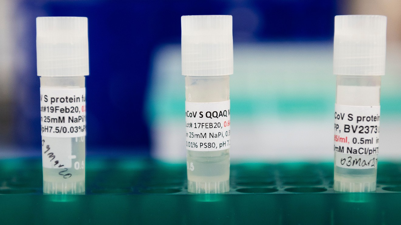 the-wall-street-journal:-novavax-says-its-covid-19-vaccine-shows-promising-results-in-early-study