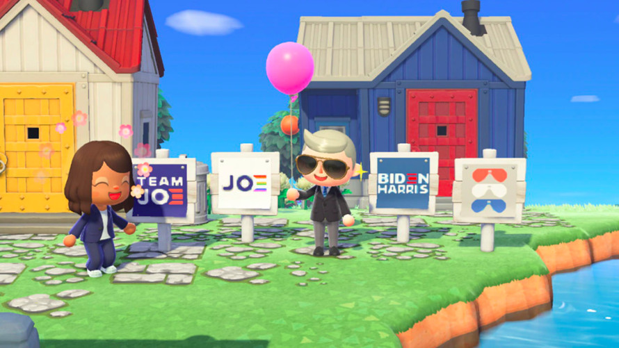 """the-margin:-trump-camp-mocks-joe-biden-for-'campaigning-for-president-of-""""animal-crossing""""'-with-virtual-yard-signs"""