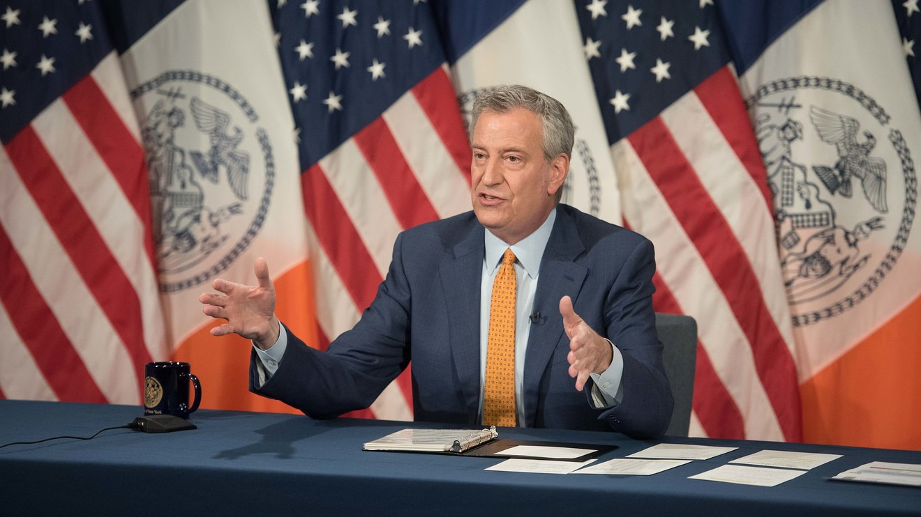 the-wall-street-journal:-new-york-business-leaders-warn-de-blasio-of-risk-posed-by-city's-perceived-decline