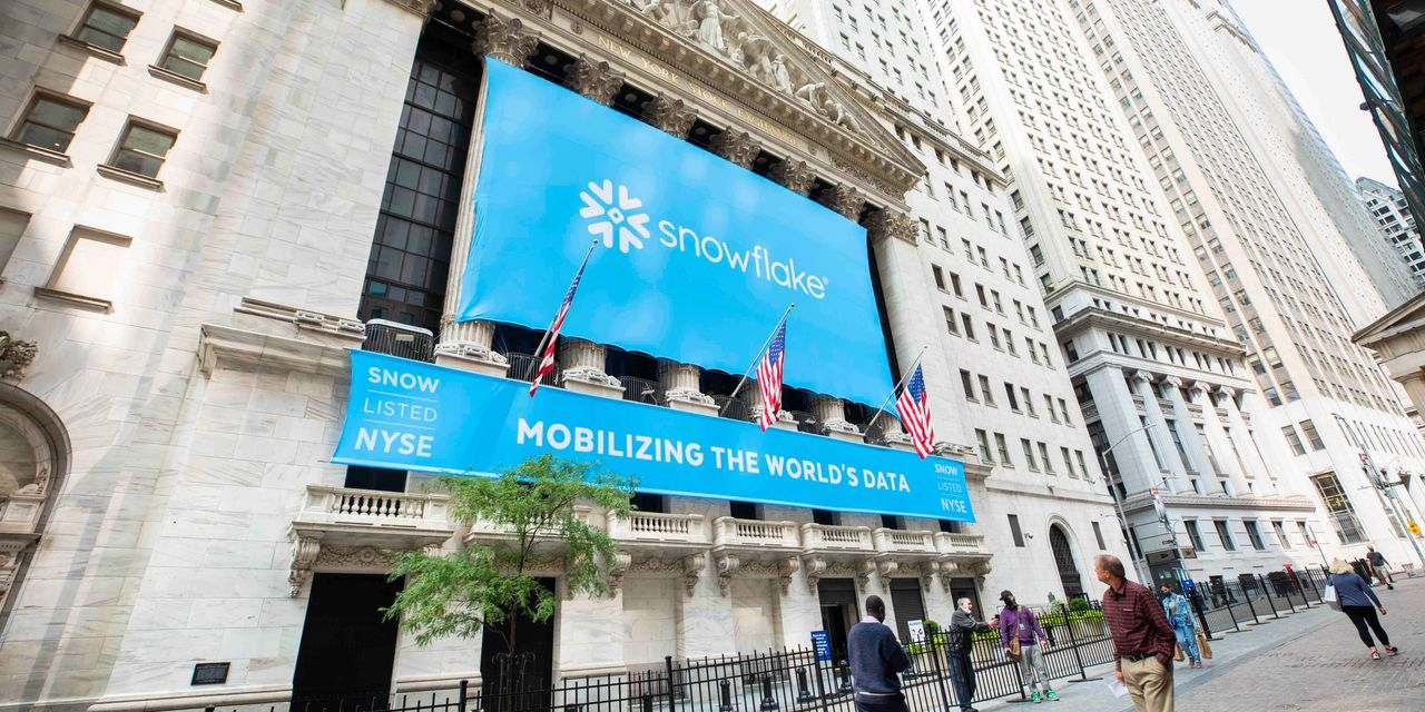 ipo-report:-snowflake-ipo-surge-makes-it-the-priciest-tech-stock-by-a-mile