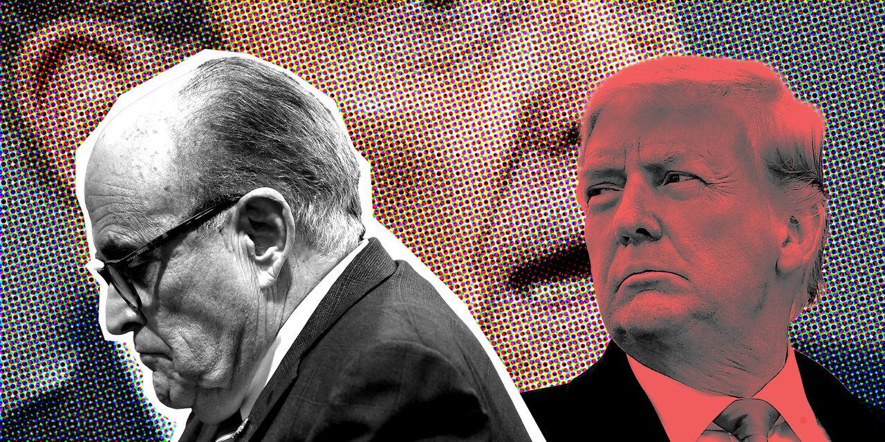 the-margin:-trump-reportedly-refuses-to-pay-giuliani's-'stop-the-steal'-legal-bills