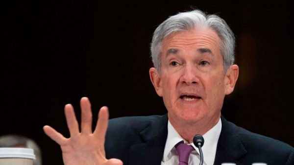 the-fed:-powell-says-'it-will-be-a-while'-before-fed-taps-the-brakes-on-economy